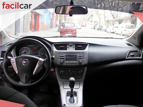 nissan sentra advance automático 2015 nafta u/d excelente!!
