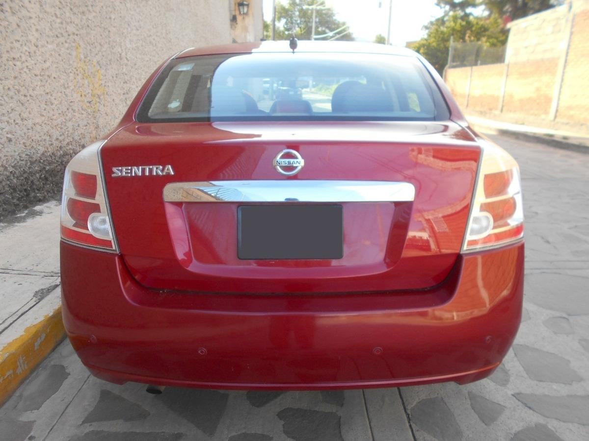 Nissan Sentra Automático, Mod  2012, Color Rojo Cereza