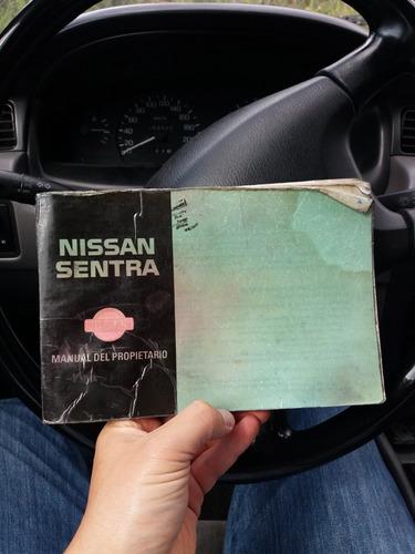 nissan sentra b14, 253600 kms, tecnomecanica vigente.