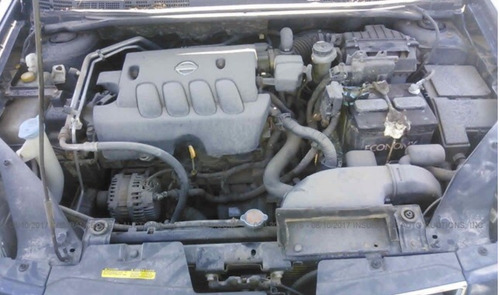 nissan sentra motor 2.0 07-12 yonkeado para partes