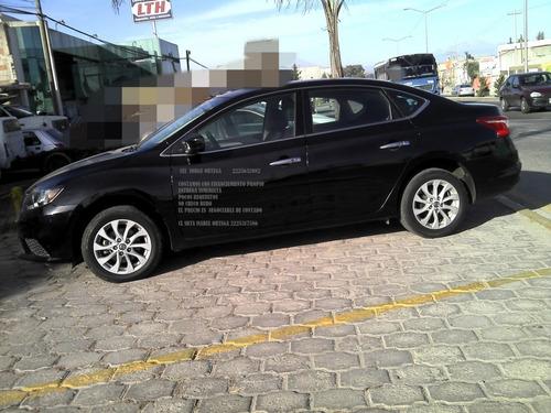 nissan sentra sense 2017 4 cil aut eng $ 45,600