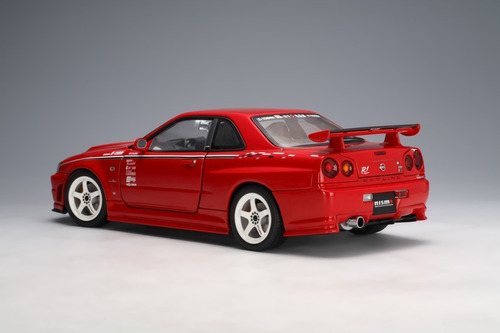 nissan skyline gt-r (r34) nismo r tune active red