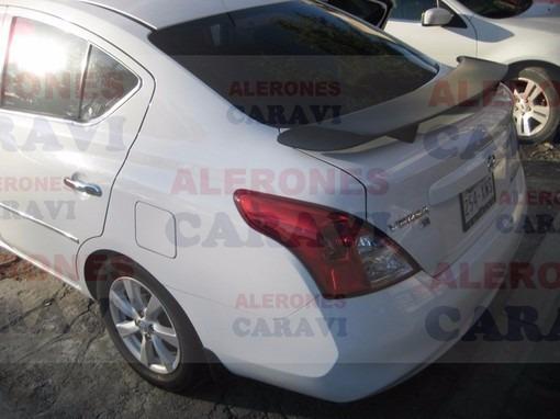 Nissan Versa Spoiler De Cajuela Muy Tuning Modelo Rt ...