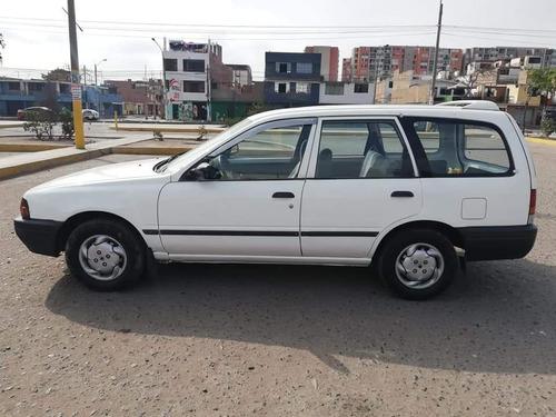 nissan station wagon ad año 98 automático gasolina y glp
