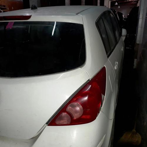 nissan tiida 1,8 16v/11 baja definit. en marcha airbag sanos