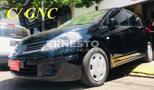 nissan tiida 1.8 mt visia gnc 2008 ernesto automotores