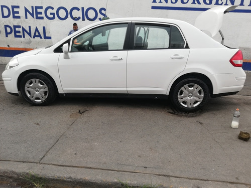 nissan tiida 1.8 sense blanco sedan tm 2014