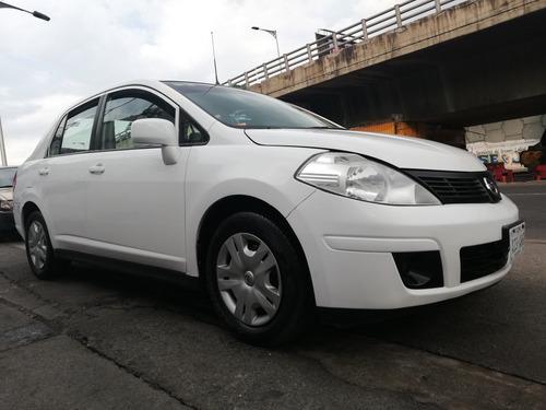nissan tiida 1.8 sense blanco sedan tm 2014