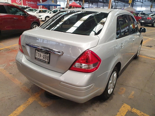 nissan tiida 1.8 sense sedan at 2012