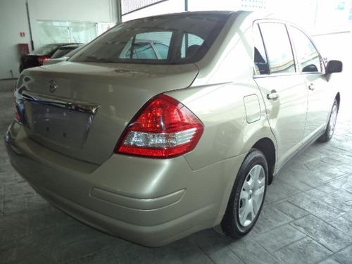 nissan tiida 1.8 sense sedan mt  esta como nuevo reestrenalo