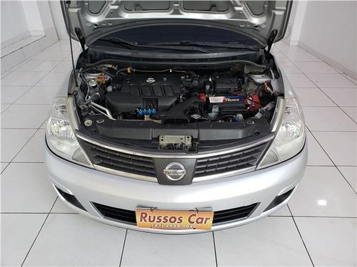 nissan tiida 1.8 sl 16v gasolina 4p manual