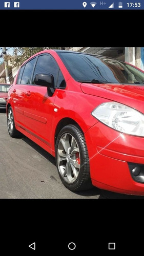 nissan tiida 2008 1.8 sl aut. 5p