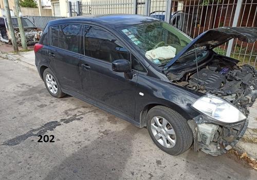 nissan tiida 2009 unidad dada de baja con alta de motor