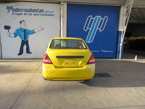nissan tiida 2016 4p sedán drive l4/1.6 man