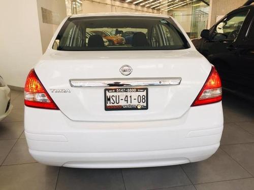 nissan tiida  4p sedan advance l4/1.8 aut