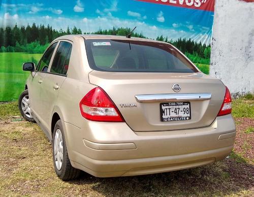nissan tiida 4p sedan comfort aut a/a