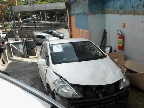 nissan tiida sedan 1.8 11/12 - sucata só peças