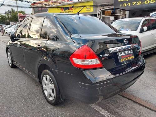 nissan tiida sedan 1.8 2012 16v gnv 4p preto