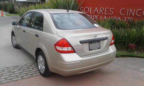 nissan tiida sedan 1.8 custom