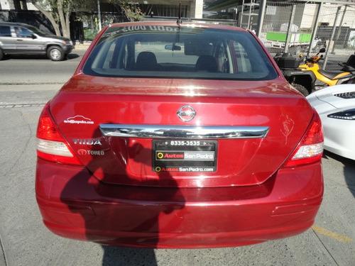 nissan tiida sedan custom ta aa 2012
