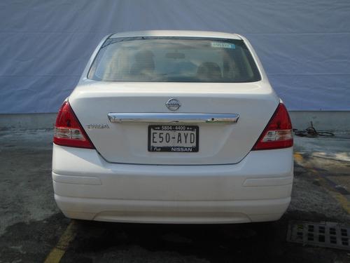 nissan tiida sedan sedan 4p sedan advance l4/1.8 man