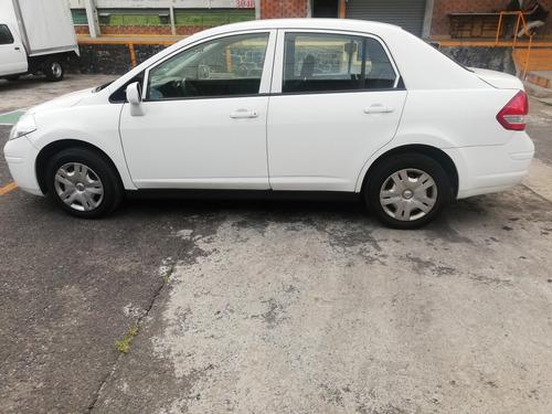 nissan tiida sedan sense 2015 unico dueño