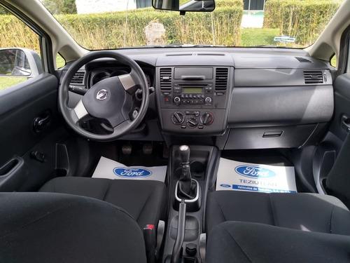 nissan tiida sedan sense tm gris oxford 2017