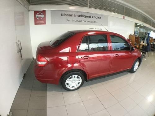 nissan tiida sedan tiida sedan sense t/m a/a 2017 seminuevos