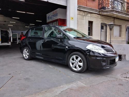 nissan tiida tiida hb extra f. at. carrica automoviles