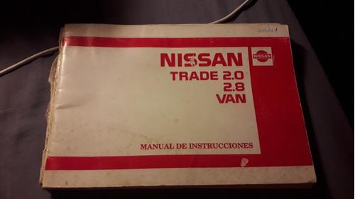 nissan trade trade 2.8