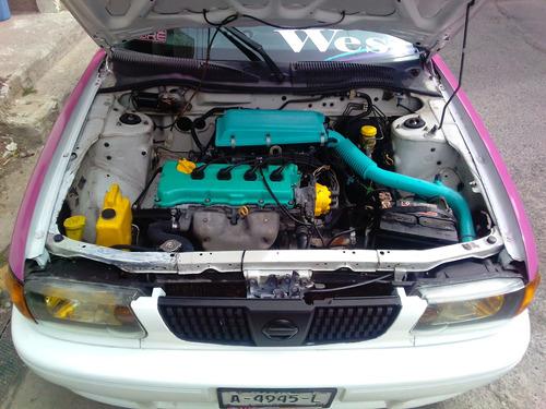 nissan tsuru gs1 2010 16v 4c 5v estándar en buen estado ....