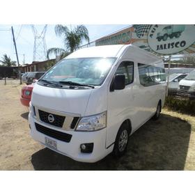 Nissan Urvan 12 Pasajeros Modelo 2015