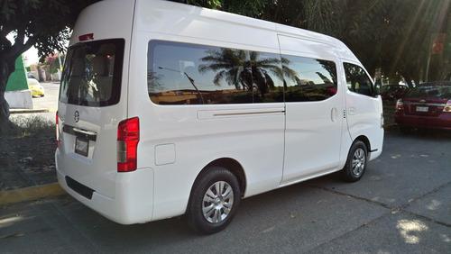 nissan urvan 12ps clima airbag abs 30000km servicios agencia