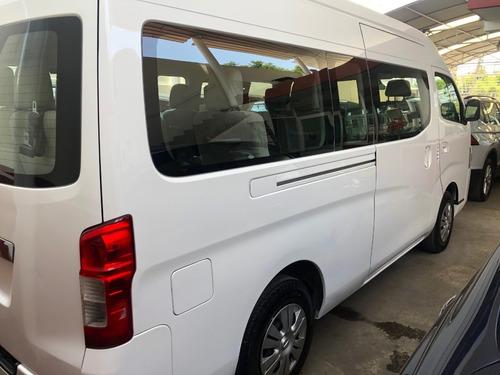 nissan urvan 15 pasajeros modelo 2017