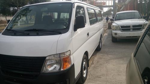 nissan urvan 2012 15 pasajeros