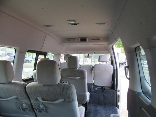 nissan urvan 2014 12 pasajeros pack seguridad mt
