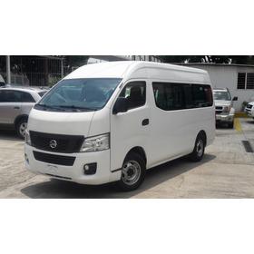 Nissan Urvan 2.5 Panel Ventanas Mt 2016