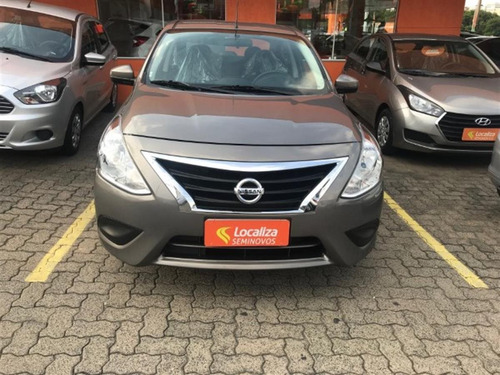 nissan versa 1.6 16v flexstart s 4p manual