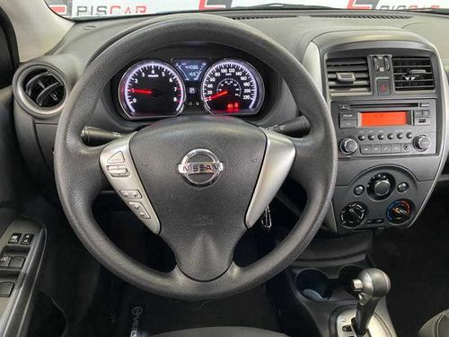 nissan versa 1.6 16v sv aut. 4p muito novo 2018 top !!