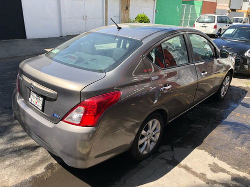 nissan versa 1.6 advance mt 2016 std