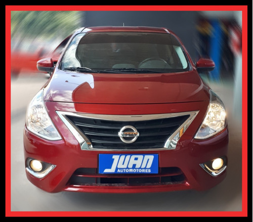 nissan versa 1.6 advance pure drive l/15 2018