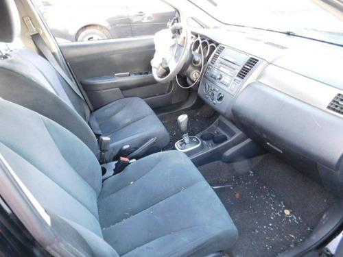 nissan versa 2008 hatchback  venta en partes
