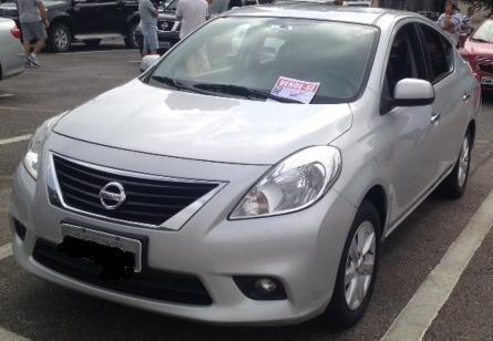 Nissan Versa 2013 Completo   Bem Abaixo Da Tabela