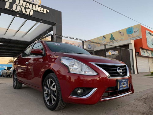 nissan versa 2016 exclusive navi aut
