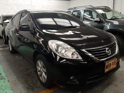nissan versa advance 1.6 aut2012   mbw985