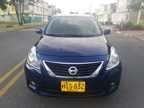 nissan versa advance full equipo mt 1600cc 2014