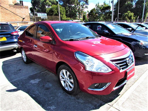 nissan versa advance sec 1,6 gasolina