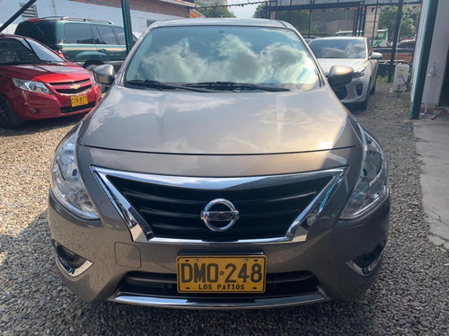 nissan versa advanced mt mod 2019