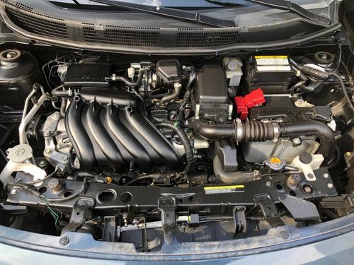 nissan versa  drive estandar 1.6 2017 4 cilindros