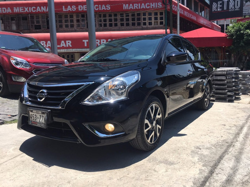 nissan versa exclusive cvt 2015, impecable!!